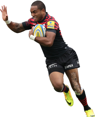 Rugby Player wearing Dynamic Tape